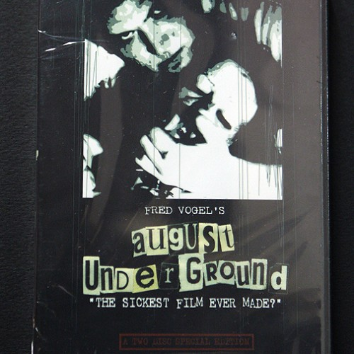 August Underground DVD Front Cover