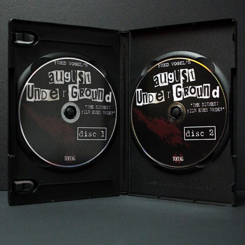 August Underground 2-Disc Inside
