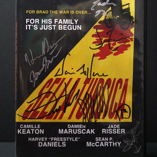 Sella Turcica Cast Signed Front
