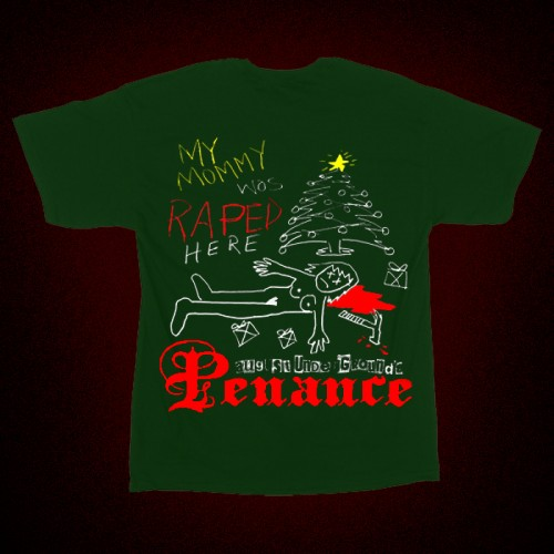 Christmas 2015 Mommy Rape T-shirt Green